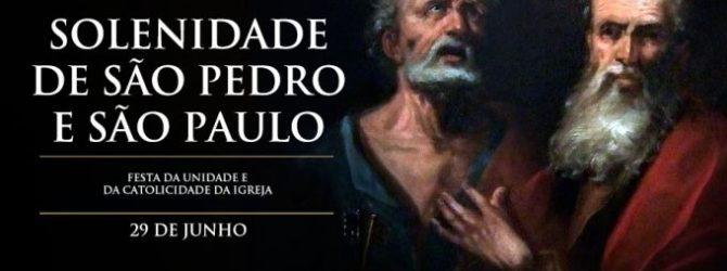 SOLENIDADE DE SÃO PEDRO E SÃO PAULO. 2018